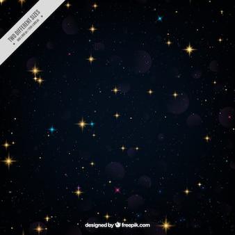 Estrela encheu o fundo do espaço