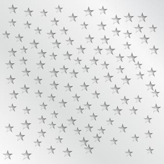 Estrelas abstratas do vetor abstrato. designer de web