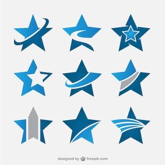 Estrelas abstratas