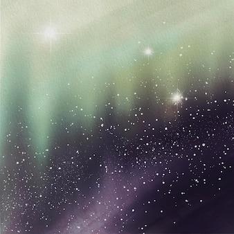 Estrelas aquarela