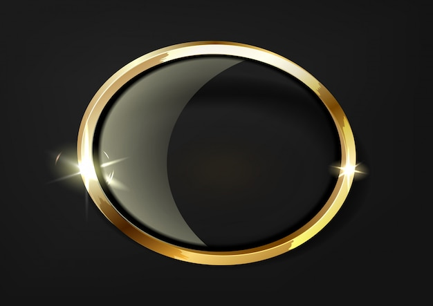 Estrelas douradas com rastreamento de inversão em fundo transparente.
