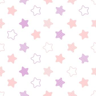 Estrelas sem costura de fundo