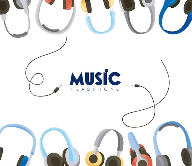 Estrutura de fones de ouvido