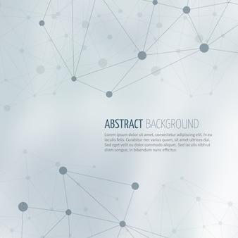 Estrutura de rede de sociedade abstract vector background