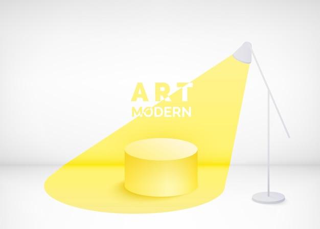 Estúdio de arte moderna
