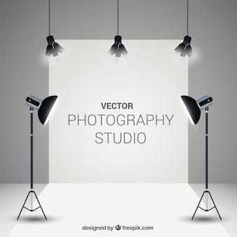 Estúdio de fotografia elegante