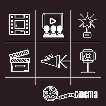 Estúdio de produção cinematográfica de curta-metragem