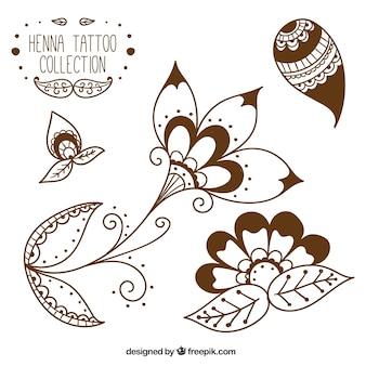 Estúdio de tatuagem de henna