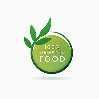 Etiqueta de alimentos orgânicos
