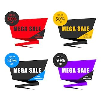 Etiqueta de venda, faixa de preço, modelo de crachá, etiqueta