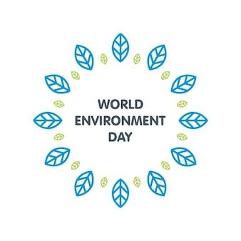 Etiqueta dia mundial do meio ambiente