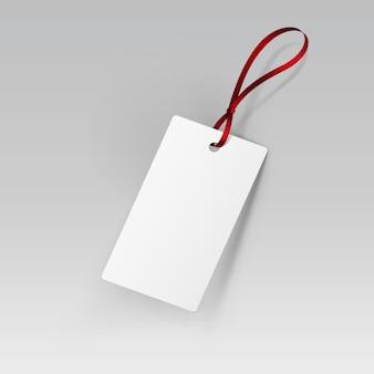 Etiqueta etiqueta fita branco isolado