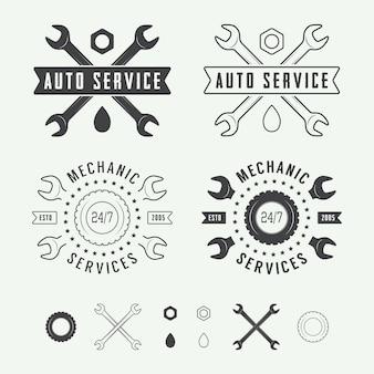 Etiqueta mecânica, emblema