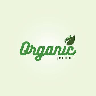 Etiqueta natural amigável do eco