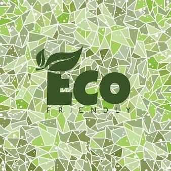 Etiqueta orgânica amigável do eco etiqueta orgânica do produto