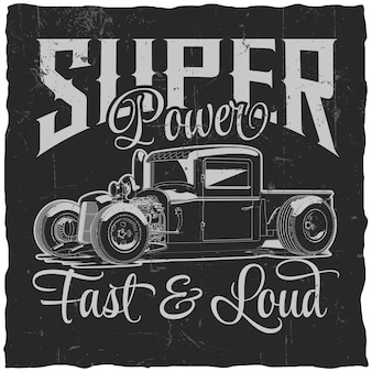 Etiqueta super power