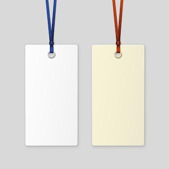 Etiqueta tag fita isolada