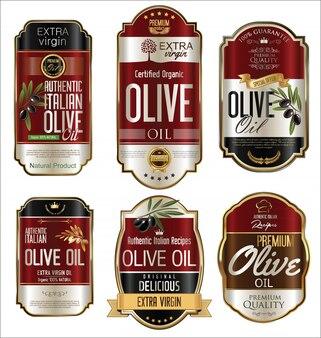 Etiquetas de azeite