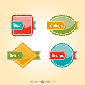 Etiquetas decorativas definir