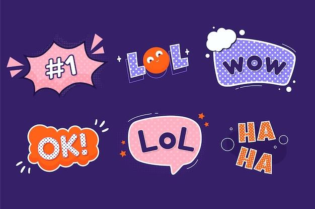 Etiquetas engraçadas do lol