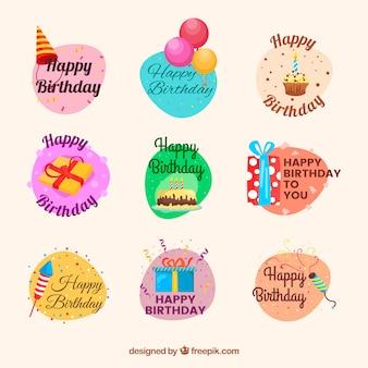 Etiquetas engraçadas para aniversários