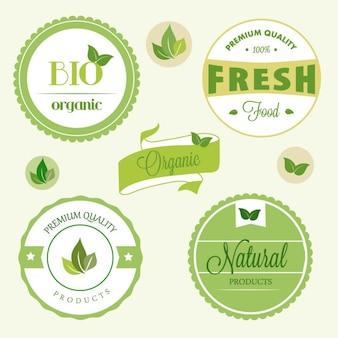 Etiquetas orgânicas
