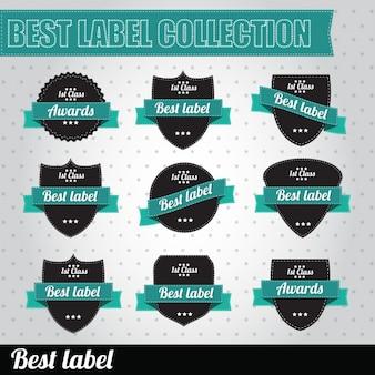 Etiquetas projeta a coleção