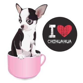 Eu amo chihuahua