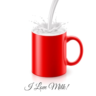 Eu amo leite
