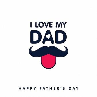 Eu amo o meu pai