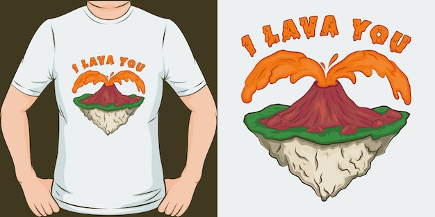 Eu lava você. design exclusivo e moderno de t-shirt.