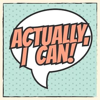 Eu posso