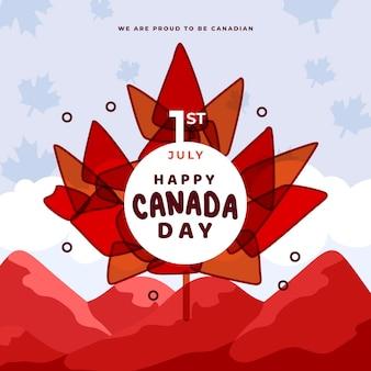 Evento de comemoração do dia do canadá