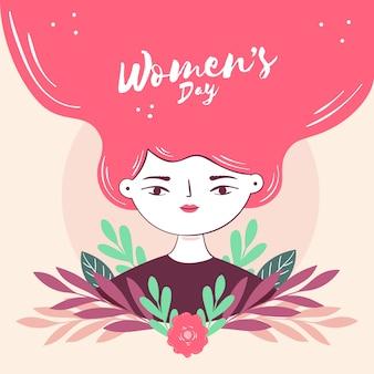 Evento de dia das mulheres estilo mão desenhada