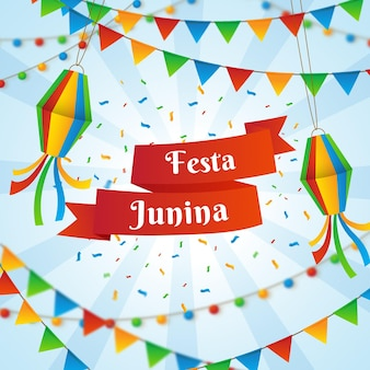 Evento de festa junina