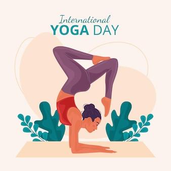 Evento de ilustração do dia internacional
