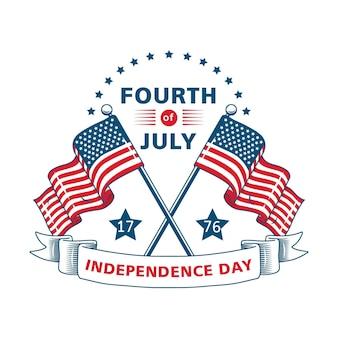 Evento do dia da independência retrô