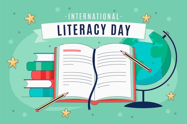 Evento do dia internacional da alfabetização