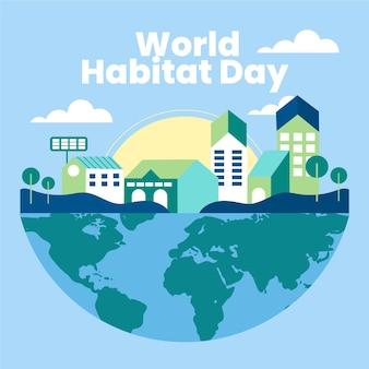 Evento do dia mundial do habitat