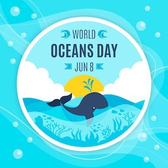Evento do dia mundial dos oceanos