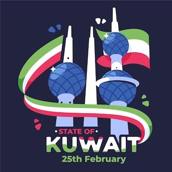 Evento do dia nacional do flat kuwait