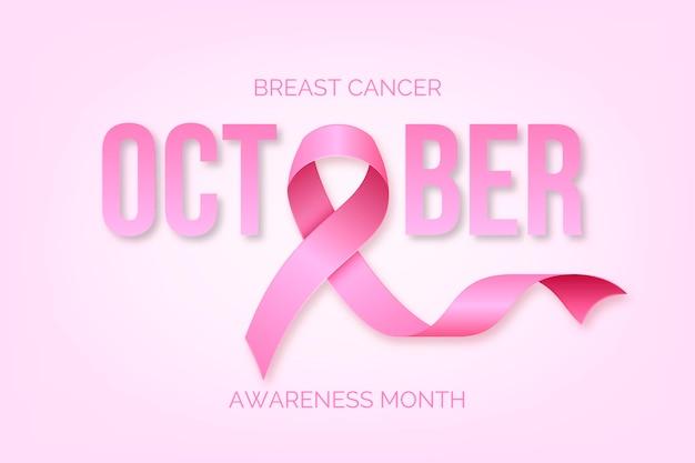 Evento do mês de conscientização do câncer de mama