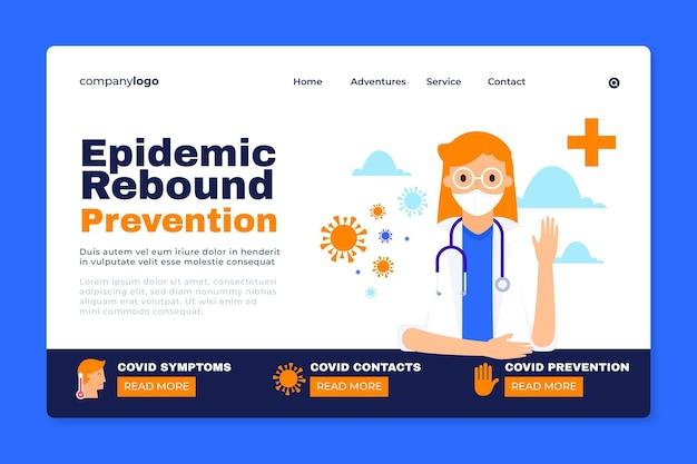 Evitar a recuperação da epidemia - página de destino