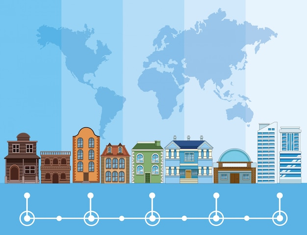 Evolução do edifício e arquitetura