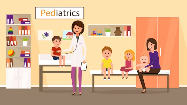 Exame pelo pediatra