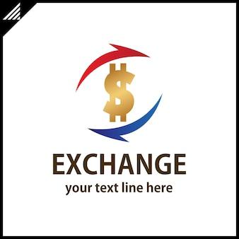 Exchange money logo
