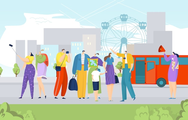 Excursão turística na cidade