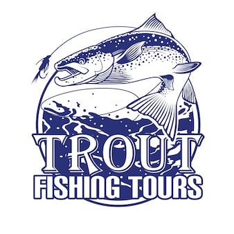 Excursões de pesca da truta