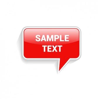 Exemplo de texto discurso baloon