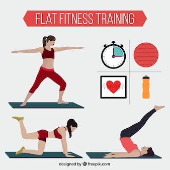 Exercício das mulheres